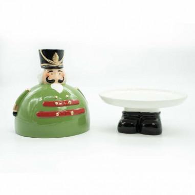 Schiaccianoci Portatorta in Ceramica...