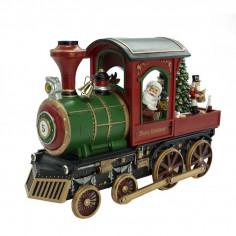 Trenino con Babbo Natale...