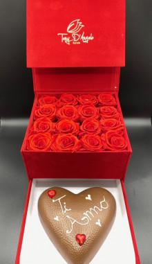 Love Box Rosso Stabilizzato