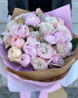 Rose Inglesi e Peonie